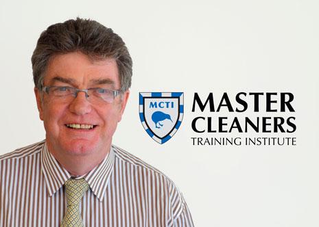 Master Cleaners Training Institute CEO Adam Hodge.